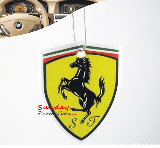 Custom Car Air Fresheners Canada Badge Shape 22