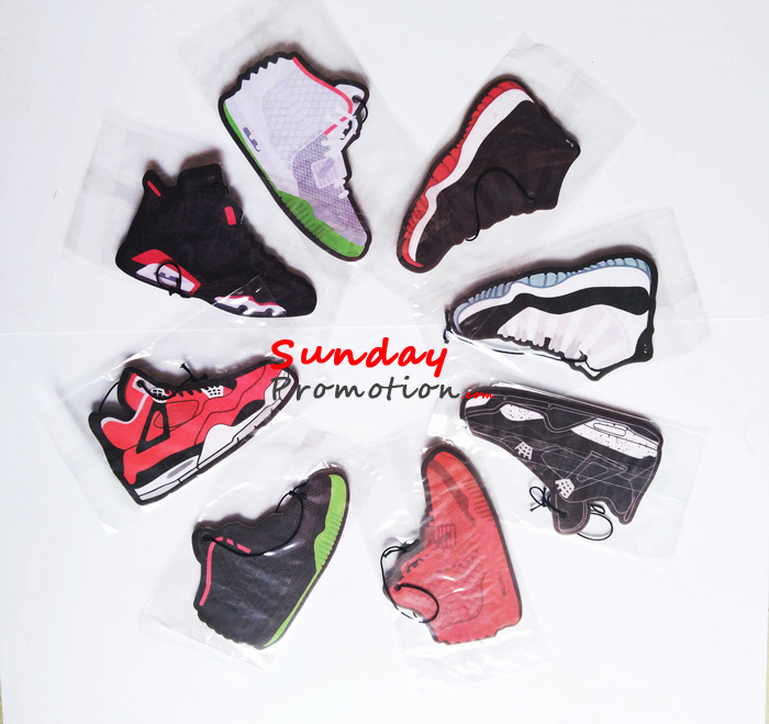 Wholesale Air Jordan Car Air Freshener Sneaker Car Freshener Cheap