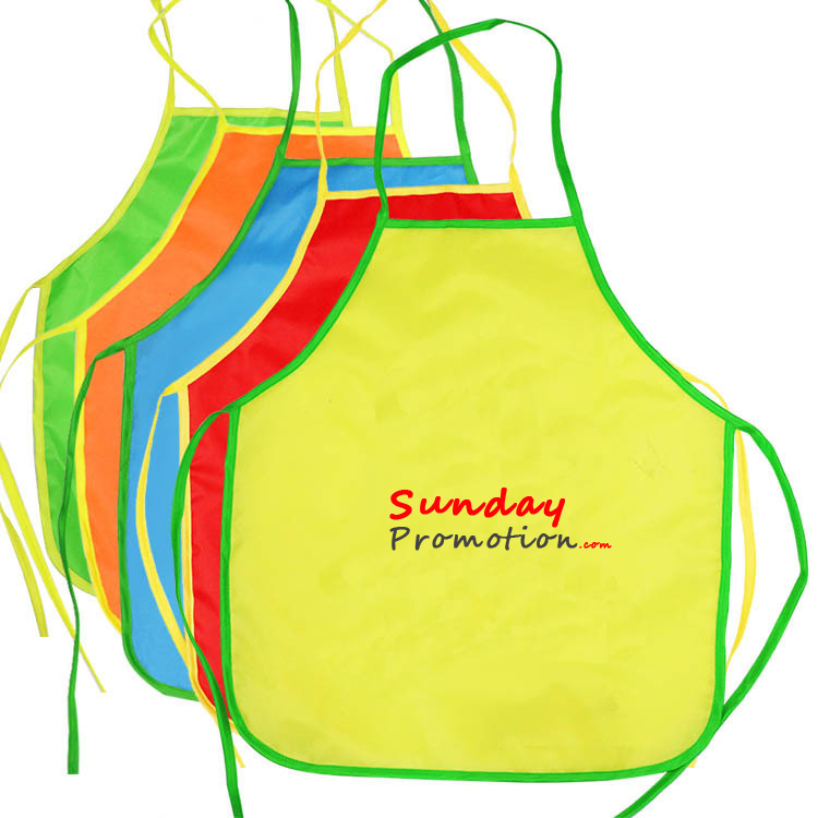 Kids Personalized Apron 210D Nylon Cheap Kids Chef Apron