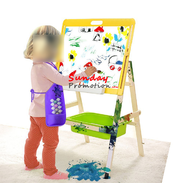 Promotional Aprons with Logo Print Non Woven Kids Chef Aprons 10