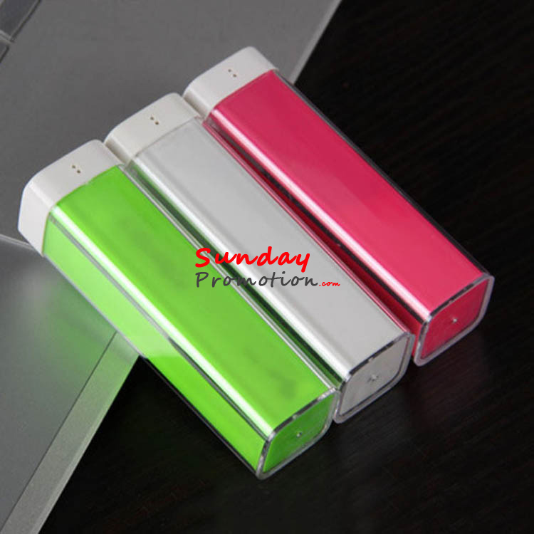 Cheap Promotional Power Banks with Logo Imprint Mini Lipstick Shape
