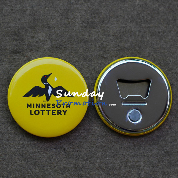 Custom Magnetic Bottle Cap Catcher Cheap for Promotion Tin Plate 75mm
