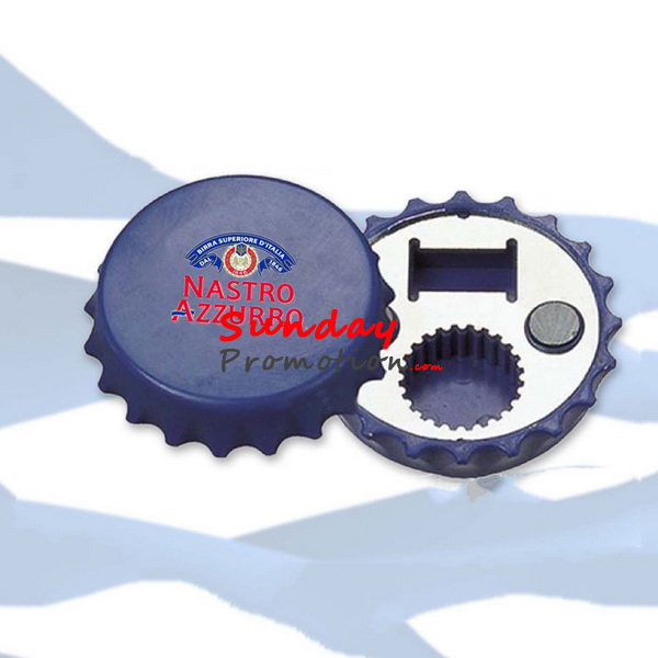 Custom Bottle Opener Fridge Magnet Beer Opener Bottle Cap Shape