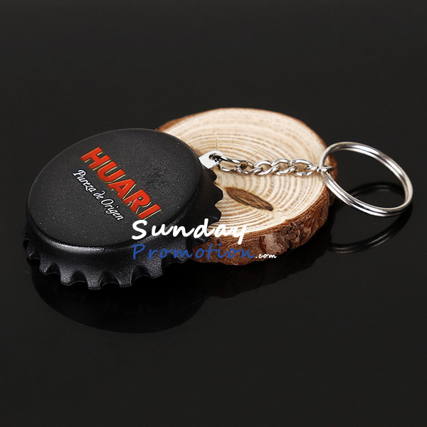 Custom Bottle Cap Bottle Opener Keychain for Beer Promotion 51