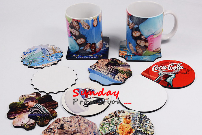 Blank Coasters Wholesale with Sublimation Coating 24