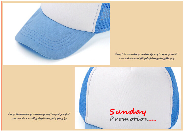 Light Weight Custom Baseball Cap for Kids & Adult