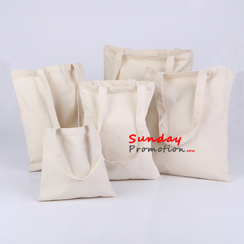 cheap promotional canvas tote bags bulk rope handle 46 40cm
