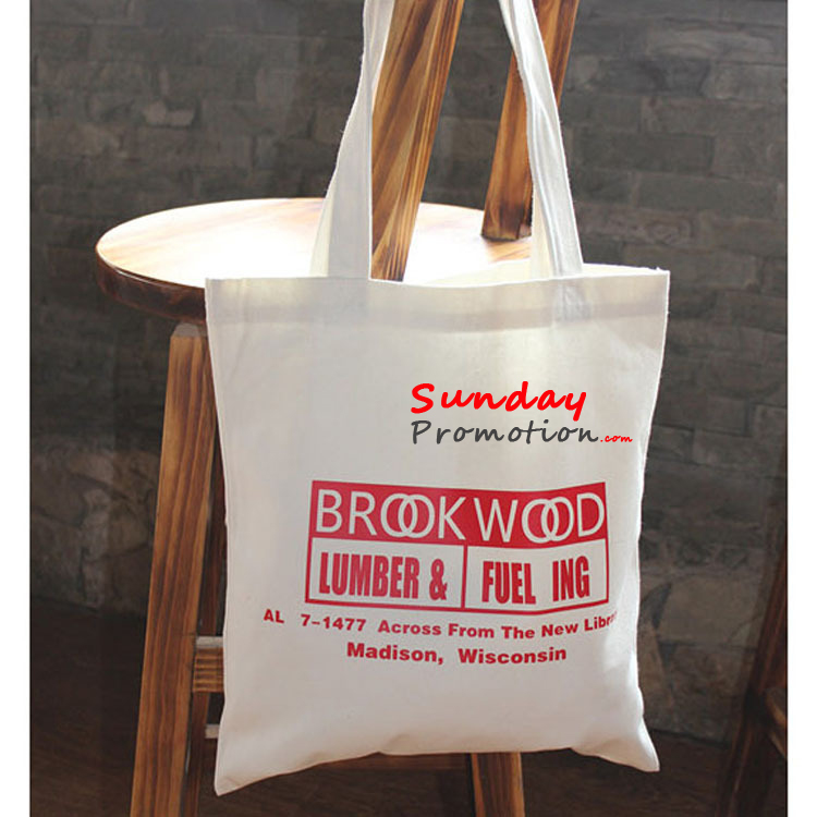 Custom Canvas Tote Bags For Promotion Online 8oz 20 22cm 1
