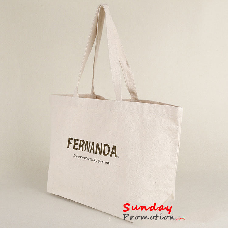 Custom Printed Canvas Tote Bags for Promotion Online 12 oz. 33*42cm