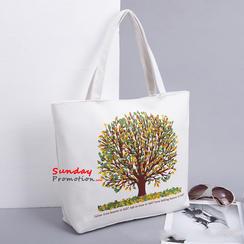 Custom Printed Canvas Tote Bags for Promotion Quality Totes 11 0dd61ca30