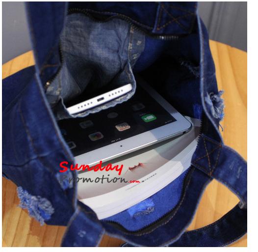 Custom Denim Bags Maker USA Bulk Vintage Jeans Bags Wholesale