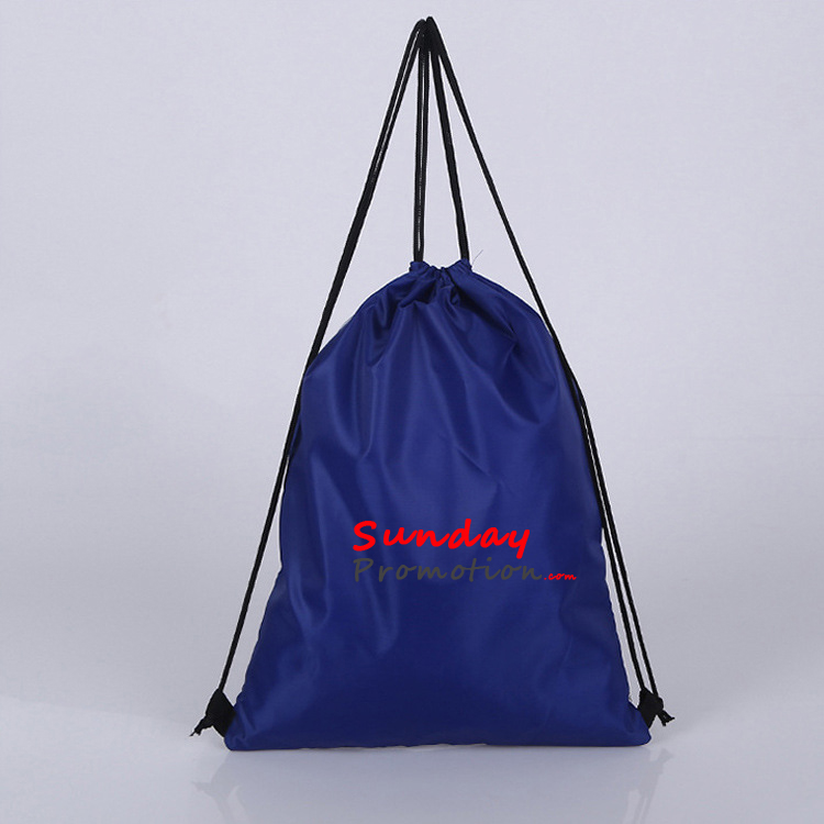 Custom Made Backpacks with Logo Drawstring Mesh Bags 210D 11 1