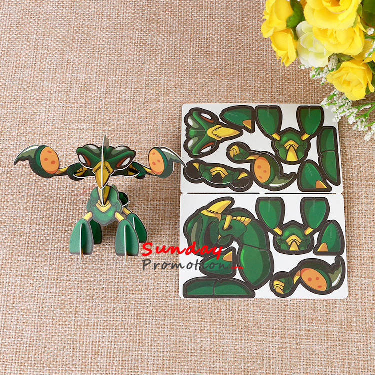 Custom Educational Puzzle for Kids Imprinted Puzzles with Logo 3D
