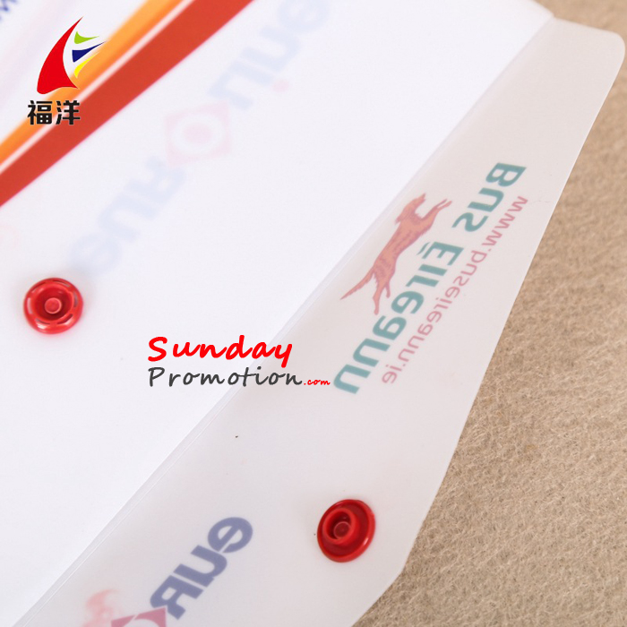 Custom Business Envelopes PP Plastic Envelope Bags with Print 0.18mm