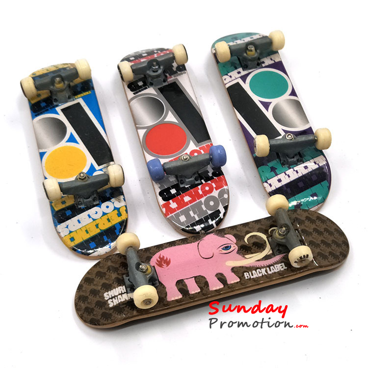 Custom Finger Skateboards with Logo Print Cheap Mini Fingerboards for Toy