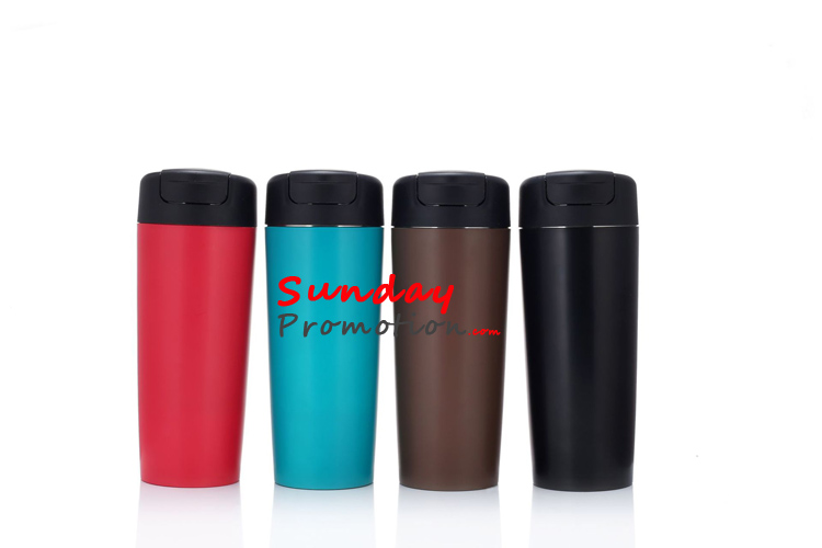 Wholesale Logo Suction Mugs with Handle Custom Giveaway Travel Mugs Manufacturer
