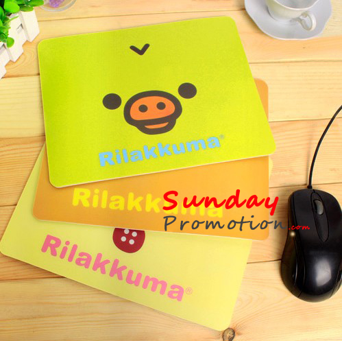 Custom Logo Mouse Pads Cheap Promotional Mouse Pads PVC 18*22cm 3mm