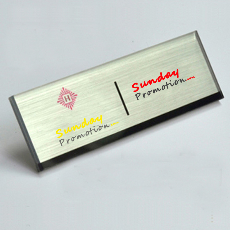 Cheap Name Badges Online Silver Acrylic Name Badges Maker