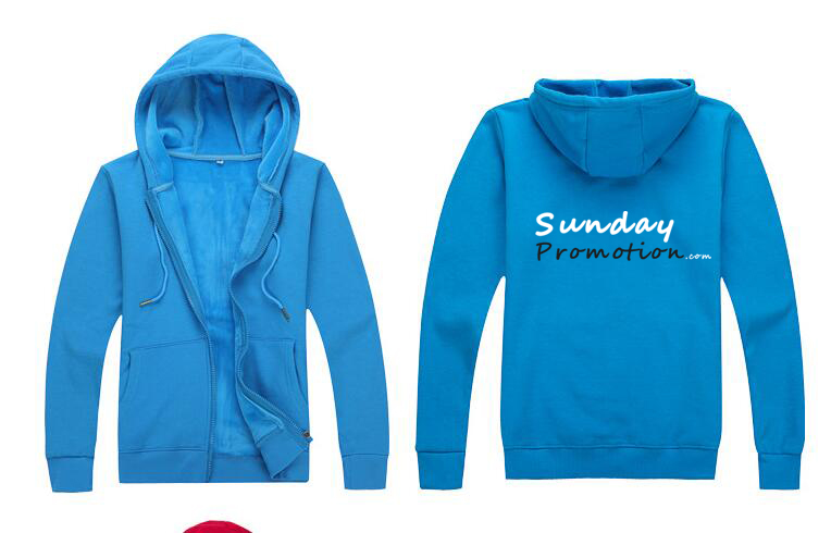 Custom print sweatshirts cheap for promotion zip with hoodie for Custom shirts and hoodies cheap