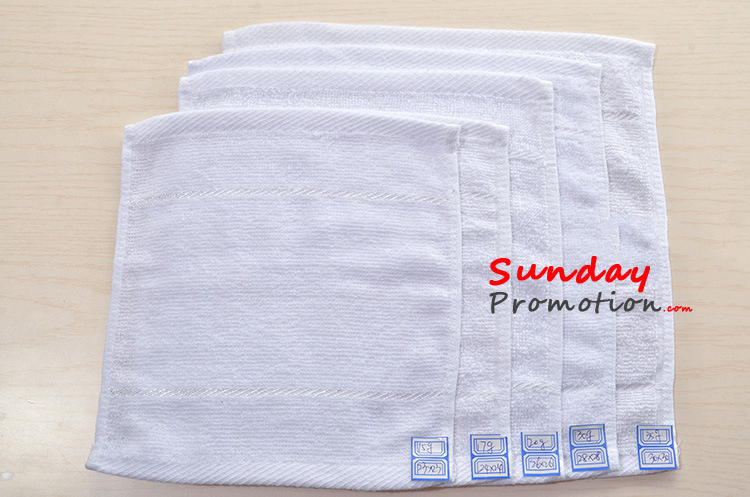 custom hand towels embroidered for promotional gifts 23 23cm
