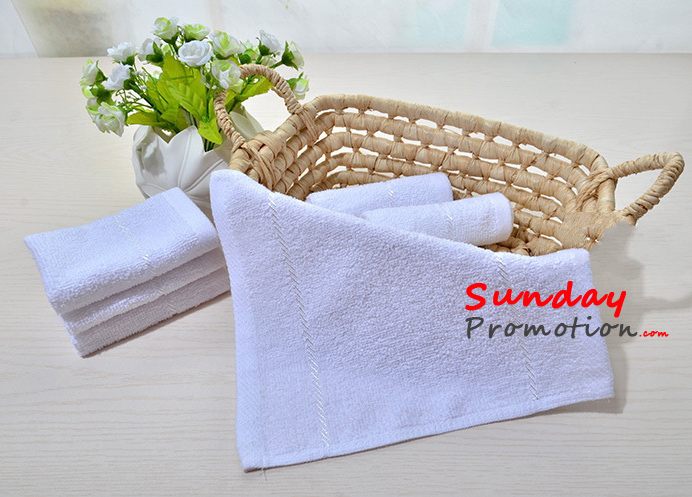 Personalized Hand Towels Embroidered for Promotional Gifts 24*24cm 9