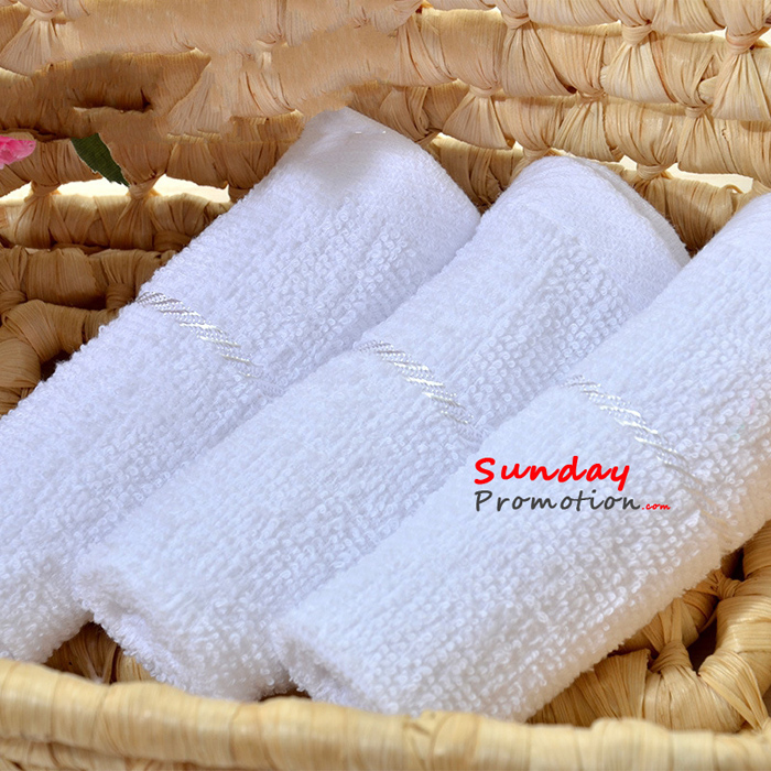 custom monogrammed hand towels for kids as promotional gifts 27 27cm
