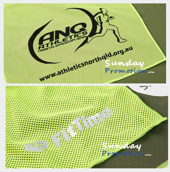 Custom Snap Cool Towel with Logo Print Wholesale Sports Cooling Towel 15