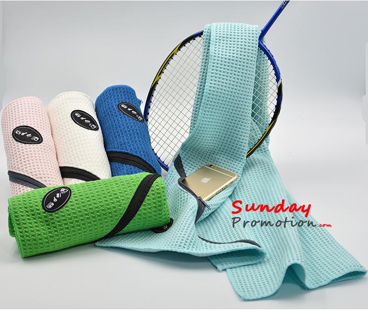 Custom Logo Workout Towels: Custom Gym Towels Bulk Personalized Sports Towels With