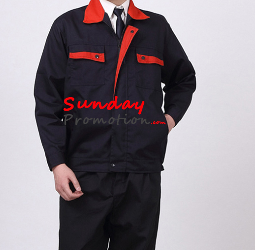 Custom Staff Wear with Logo Print wholesale Work Uniform Suppliers 3