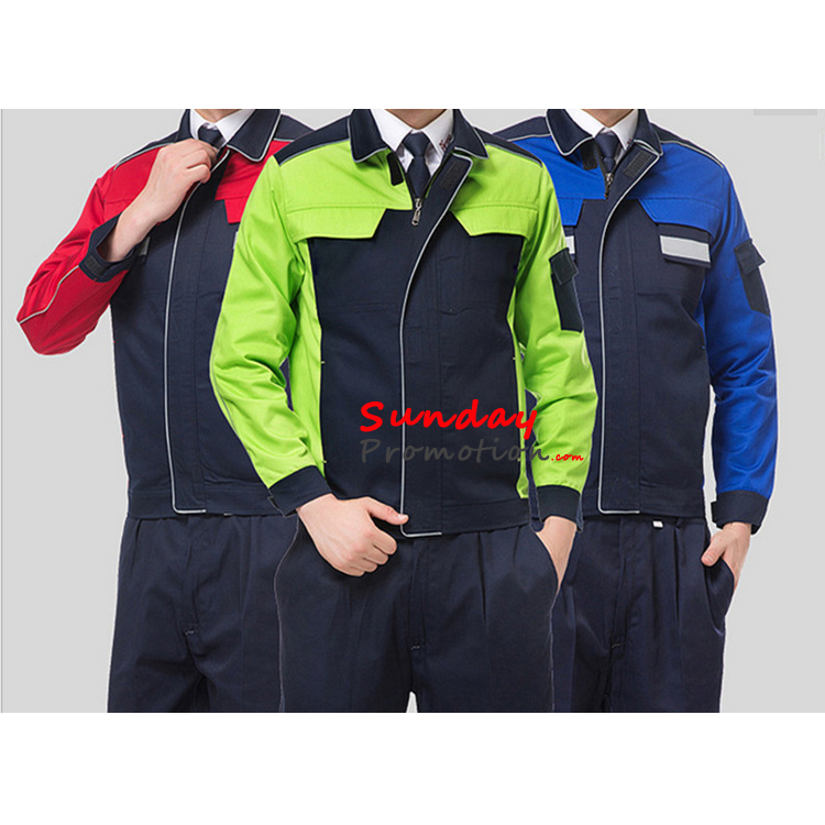 Custom Work Clothes Online Work Uniforms With Logo Print Cheap 7