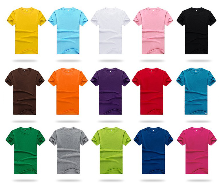 6.3-oz Poly Cotton Custom Logo Short Sleeve T-shirt