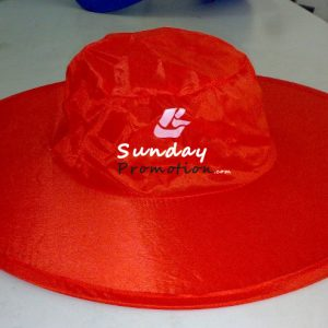 Custom Promotional Foldable Hats w Logo Print